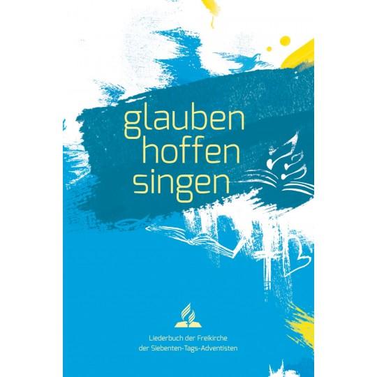glauben-hoffen-singen, Softcover blau