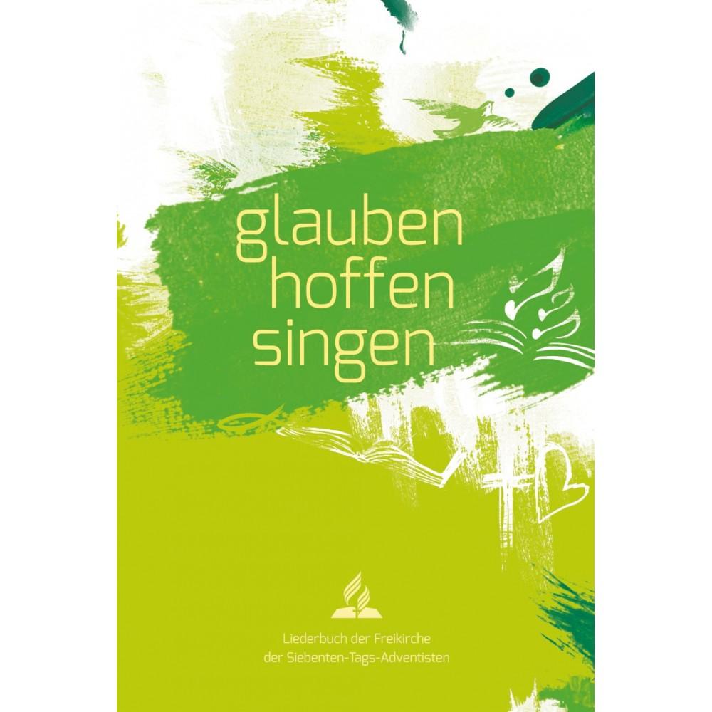 glauben-hoffen-singen, Softcover grün - Advent-Verlag