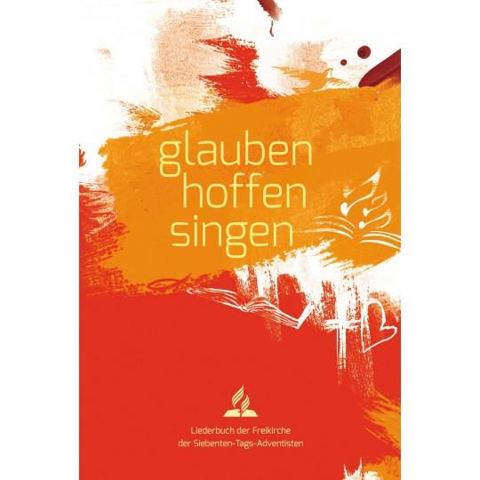 glauben-hoffen-singen, Softcover rot