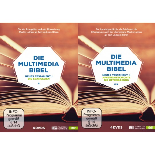 Die Multimedia Bibel: Set NT I und II