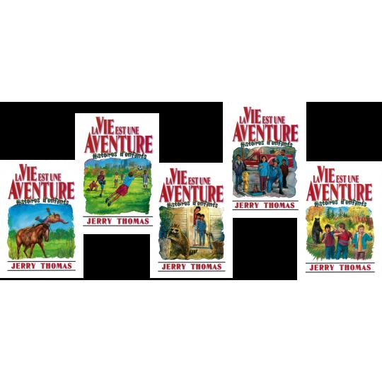 La Vie est une aventure, Bände 1-5