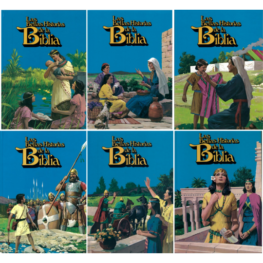 Las Bellas Historias de la Biblia, Band 1-6, AT