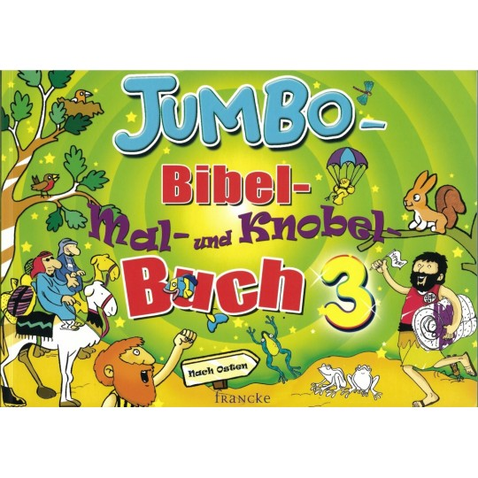 Jumbo Bibel-Mal- und Knobel-Buch 3
