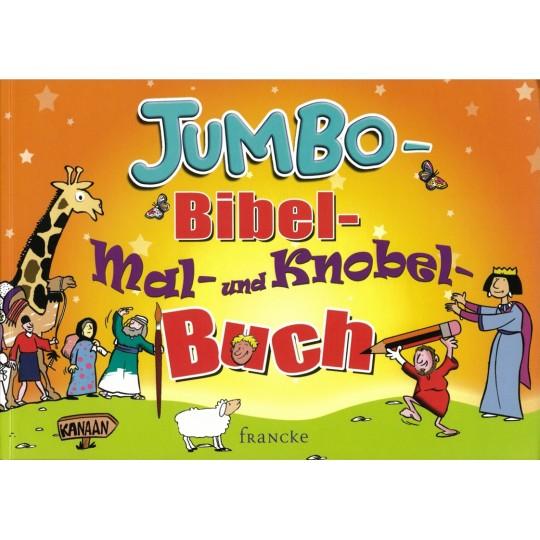 Jumbo Bibel-Mal- und Knobel-Buch