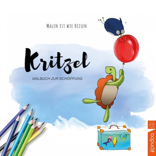 Kritzel - Malbuch zur Schöpfung