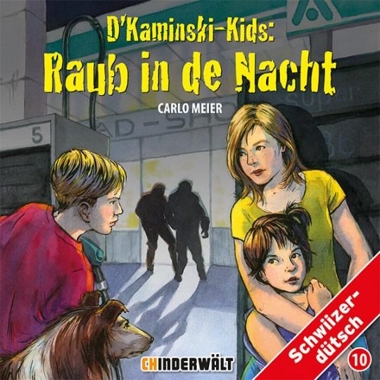 Kaminski-Kids 10: Raub in de Nacht, Mundart