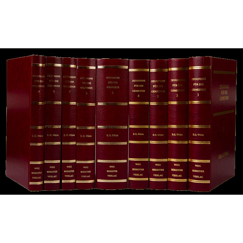 Zeugnisse für die Gemeinde, Bände 1-9