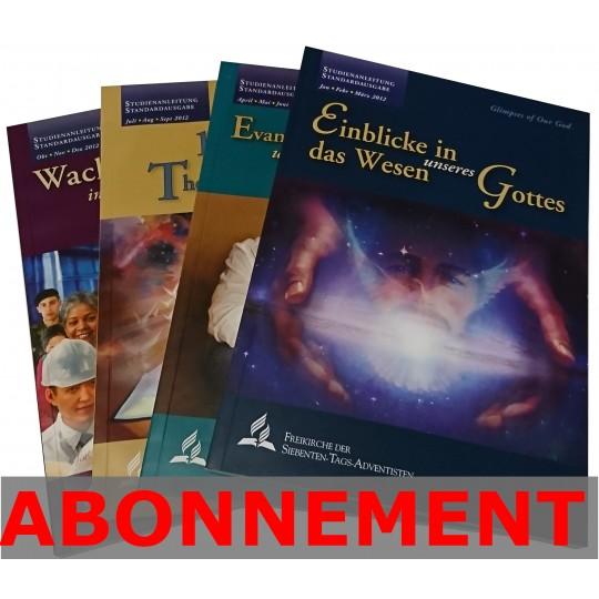 Studienheft zur Bibel (LW), Abo 3.-4. Quartal 2020