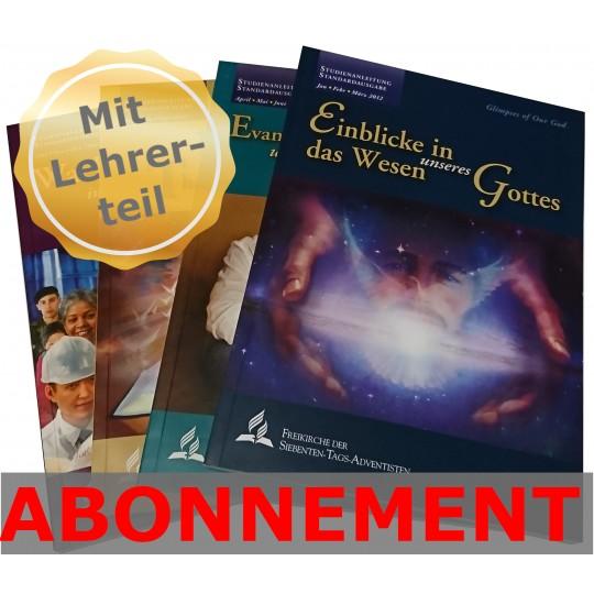Studienheft zur Bibel (LWL), Abo 2021