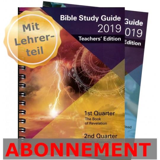Studienheft zur Bibel (LET), Abo 2019