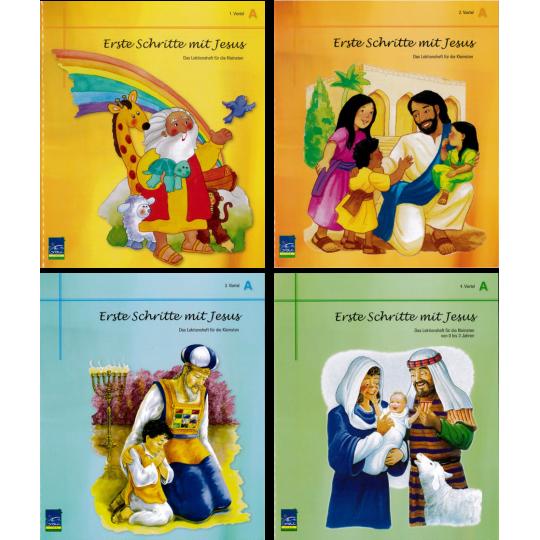"""Lektion """"Erste Schritte mit Jesus"""",  Zyklus A, Teilnehmer"""