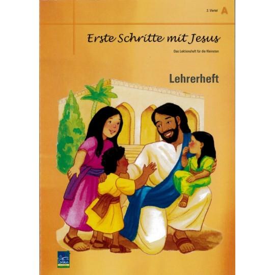"""Studienheft """"Erste Schritte mit Jesus"""", Zyklus A, 2. Viertel, Lehrer"""