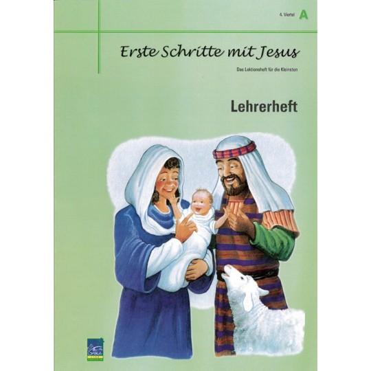 """Studienheft """"Erste Schritte mit Jesus"""", Zyklus A, 4. Viertel, Lehrer"""