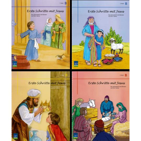 """Studienheft """"Erste Schritte mit Jesus"""", Zyklus B, Teilnehmer"""