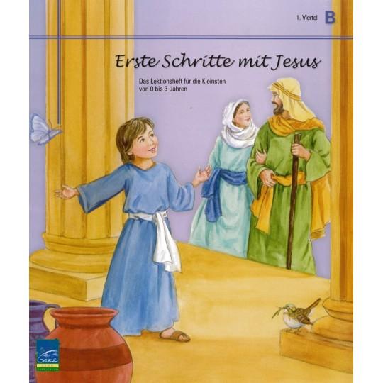 """Studienheft """"Erste Schritte mit Jesus"""", Zyklus B, 1. Viertel, Teilnehmer"""
