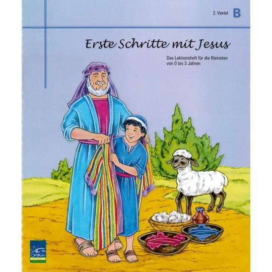 """Studienheft """"Erste Schritte mit Jesus"""", Zyklus B, 2. Viertel, Teilnehmer"""