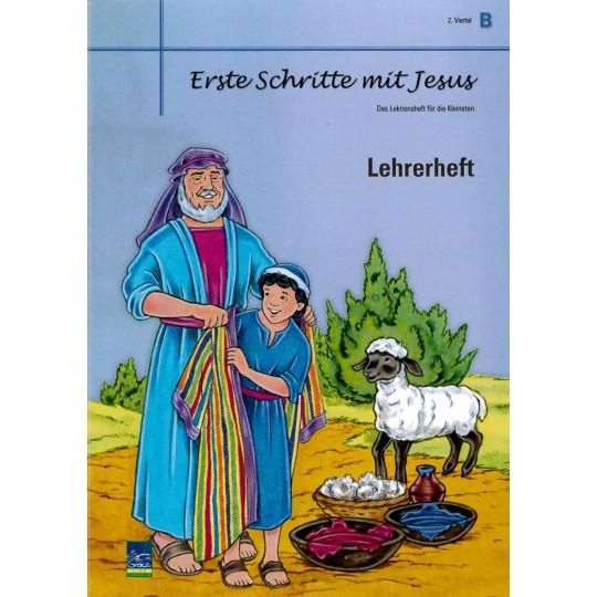 """Studienheft """"Erste Schritte mit Jesus"""", Zyklus B, 2. Viertel, Lehrer"""