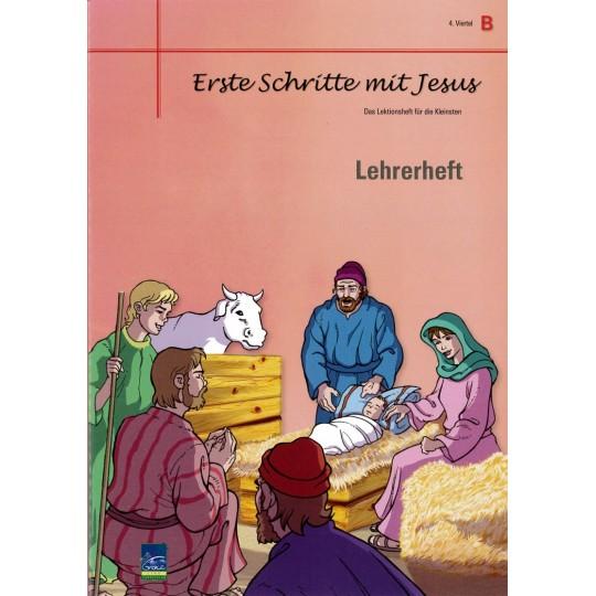 """Studienheft """"Erste Schritte mit Jesus"""", Zyklus B, 4. Viertel, Lehrer"""
