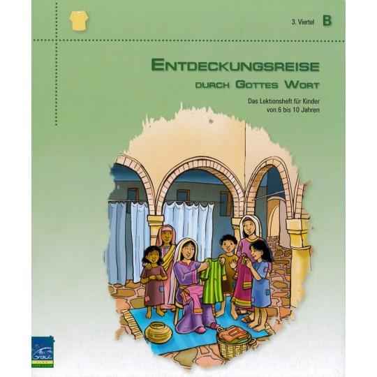 """Studienheft """"Entdeckungsreise durch Gottes Wort"""", Zyklus B, 3. Viertel, Teilnehmer"""