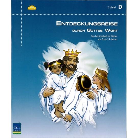 """Studienheft """"Entdeckungsreise durch Gottes Wort"""", Zyklus D, 2. Viertel, Teilnehmer"""