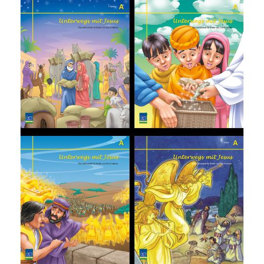 """Studienheft """"Unterwegs mit Jesus"""", Zyklus A, Teilnehmer"""
