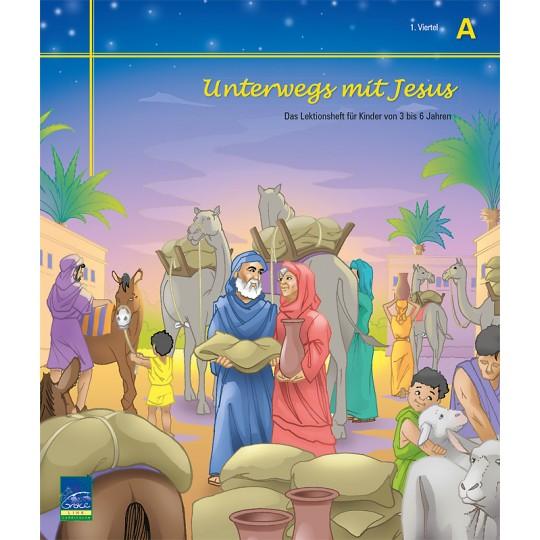 """Studienheft """"Unterwegs mit Jesus"""", Zyklus A, 1. Viertel, Teilnehmer"""