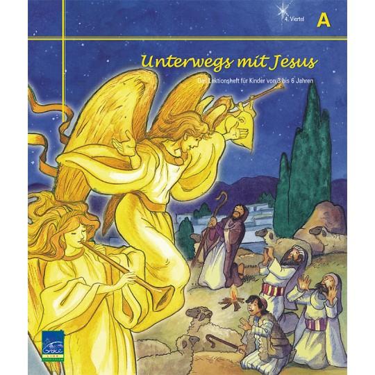 """Studienheft """"Unterwegs mit Jesus"""", Zyklus A, 4. Viertel, Teilnehmer"""