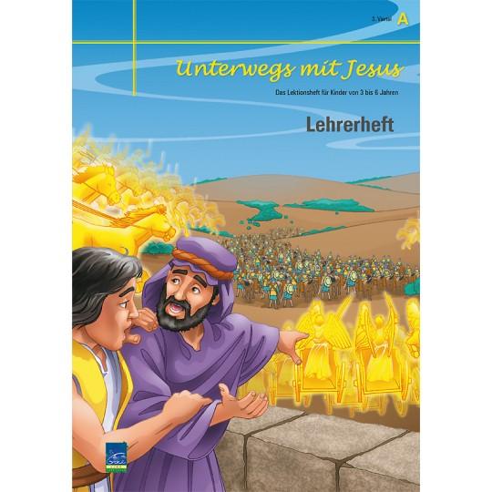 """Studienheft """"Unterwegs mit Jesus"""", Zyklus A, 3. Viertel, Lehrer"""