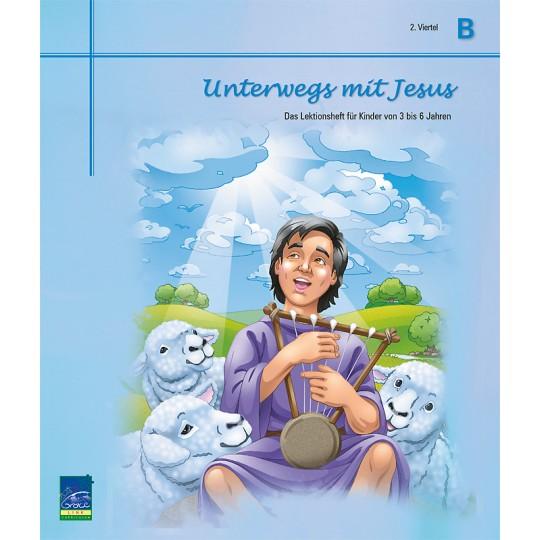 """Studienheft """"Unterwegs mit Jesus"""", Zyklus B, 2. Viertel, Teilnehmer"""