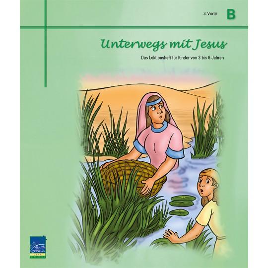"""Studienheft """"Unterwegs mit Jesus"""", Zyklus B, 3. Viertel, Teilnehmer"""