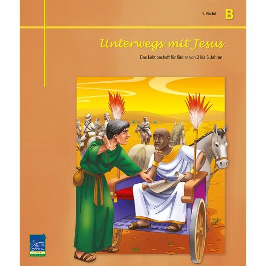 """Studienheft """"Unterwegs mit Jesus"""", Zyklus B, 4. Viertel, Teilnehmer"""