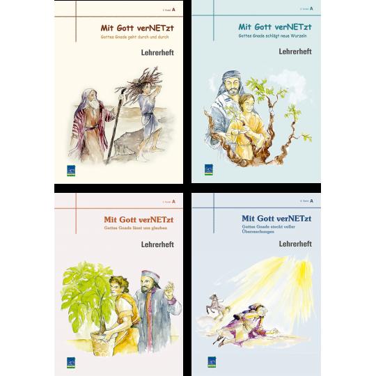 """Studienheft """"Mit Gott verNETzt"""", Zyklus A, Lehrer"""