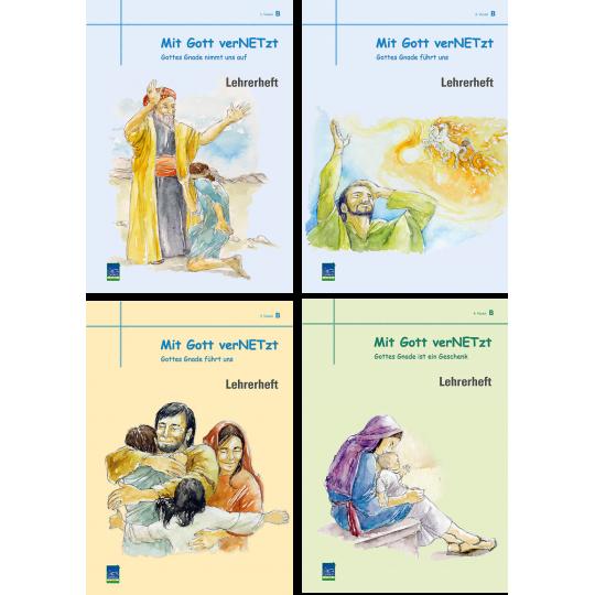 """Studienheft """"Mit Gott verNETzt"""", Zyklus B, Lehrer"""