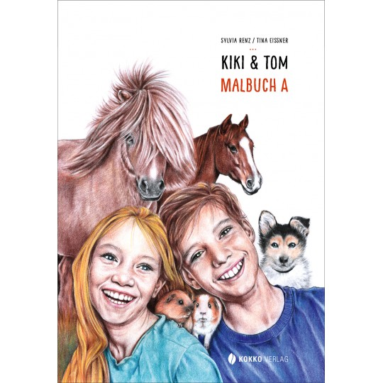 Kiki & Tom, Malbuch A