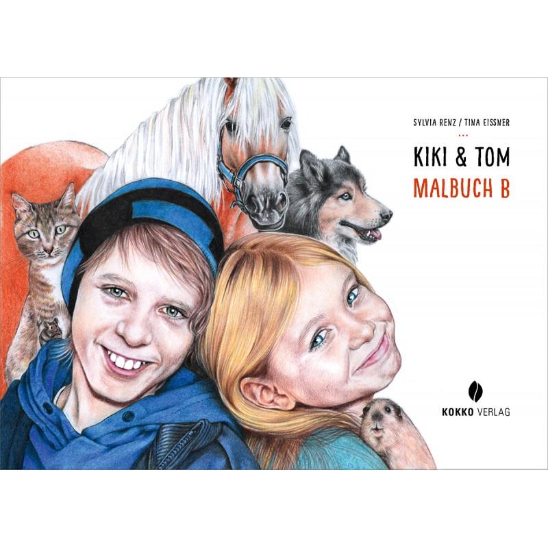 Kiki & Tom, Malbuch B