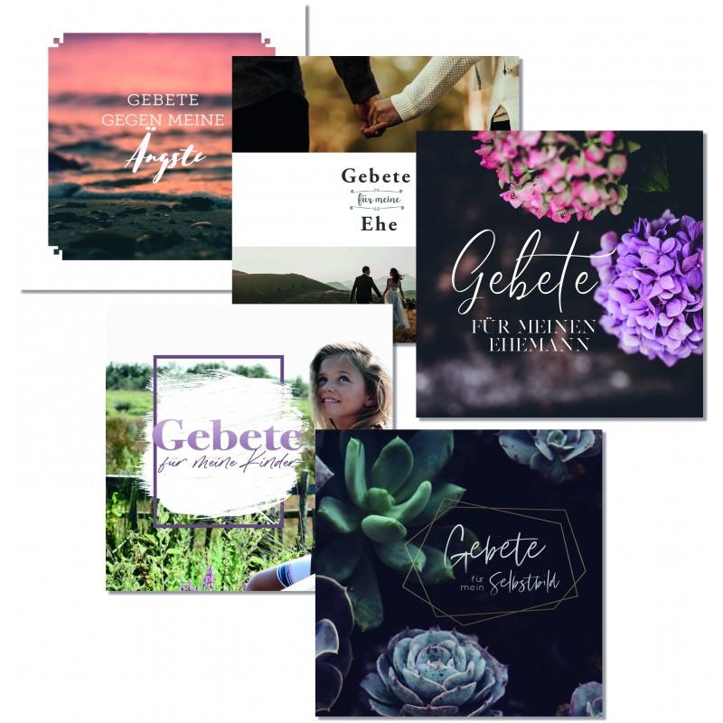 Heimathafen, Gebetskarten, Set mit 5 Themen
