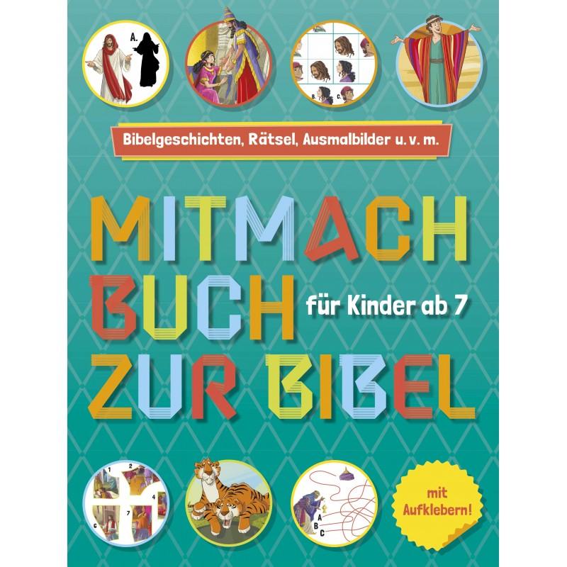 Mitmachbuch zur Bibel für Kinder ab 7
