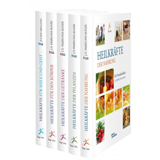 Heilkräfte-Set, Bände 1-5